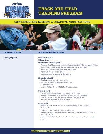 Printable PDF of this session - NYRR