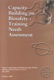 Training Needs Assessment Report - Ministry of Environment and ...
