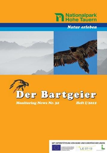 Bartgeiernews 32 - Vorarlberger Jägerschaft