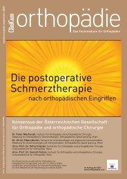 postoperativen Schmerztherapie - Österreichische Gesellschaft für ...