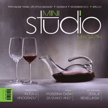 KUĆA U VINOGRADU - Mini Studio Magazin