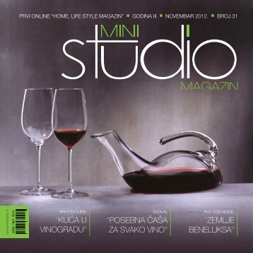 KUĆA U VINOGRADU - Mini Studio Magazin