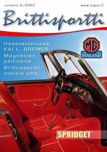 Untitled - MG Car Club Finland Ry