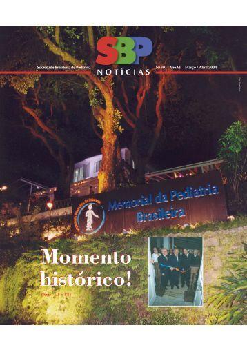 Momento histórico! - Sociedade Brasileira de Pediatria