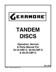 TandemDiscBook - Gearmore, Inc.