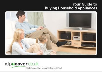 Your Guide to Buying Household Appliances - helpucover