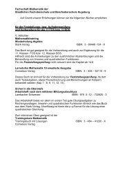 Fachschaft Mathematik der - Staatliche Fachoberschule und ...