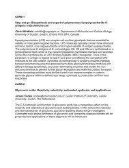 CARB Abstracts - Division of Carbohydrate Chemistry