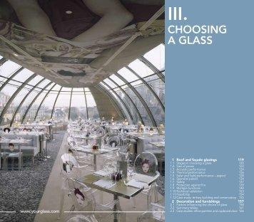 CHOOSING A GLASS - EU Glass Consultants Ltd