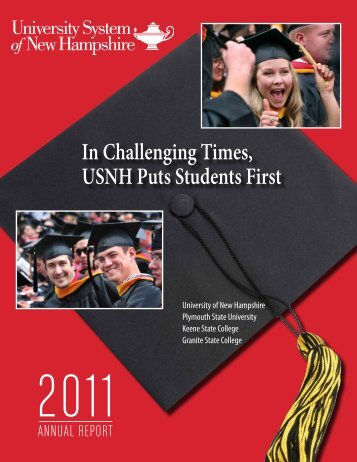 2011 Annual Report - USNH Financial Services - University System ...