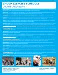 GROUP FITNESS SCHEDULE Effective 9/4/12 - YMCA of Orange ... - Page 2