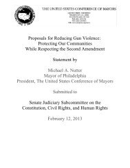 Proposals for Reducing Gun Violence: Protecting Our Communities ...