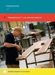 Arbeidsrisico's in de timmerindustrie - Inspectie SZW