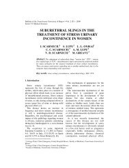 Suburethral Slings in the Treatment of Stress Urinary