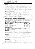 Sicherheitsdatenblatt Sicherheitsdatenblatt gemäß 91/155/EWG ... - Page 3