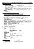 sicherheitsdatenblatt - Fachhandel Parkett August Denner GmbH - Page 2