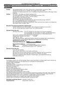 sicherheitsdatenblatt - Fachhandel Parkett August Denner GmbH - Page 4