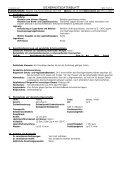 sicherheitsdatenblatt - Fachhandel Parkett August Denner GmbH - Page 6