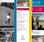 fisicoesportives a la natura i futbol sala - Ajuntament de Lloret de Mar