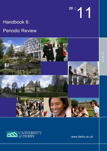 Handbook 6: Periodic Review - Study in the UK