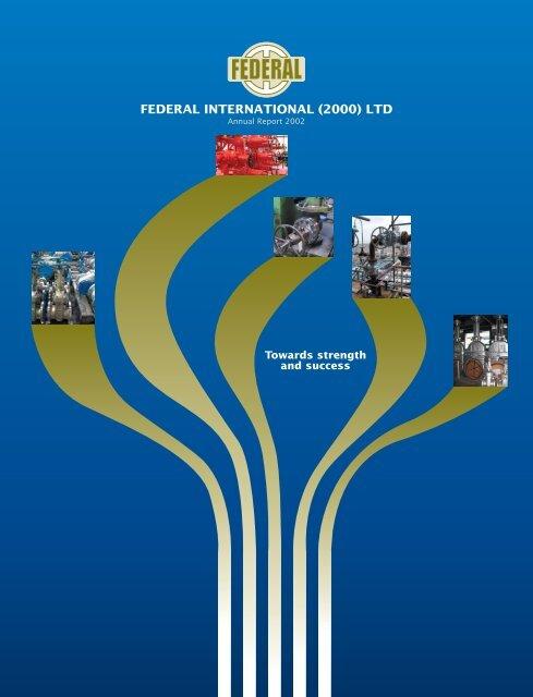 FEDERAL INTERNATIONAL (2000) LTD