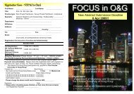 Registration Form - FOCUS in O&G New Abstract Submission ...