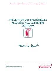 Prévention des bactériémies associées aux cathéters centraux