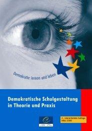 Demokratische Schulgestaltung in Theorie und ... - Politische Bildung