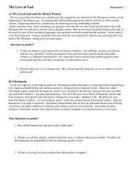 God's Love - Discussion 2 - Faith Lutheran Church