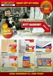 NYTT BADRUM? sidan 2-3 - Cheapy