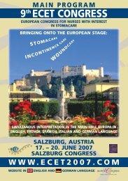 hall europa · june 19 2007 - European Council of Enterostomal ...