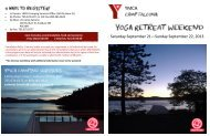 Saturday September 21—Sunday September 22 ... - YMCA Sudbury
