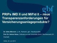 RA Dr. Ulrike MÖNNICH/ Univ.-Prof. Dr. Helmut HEISS