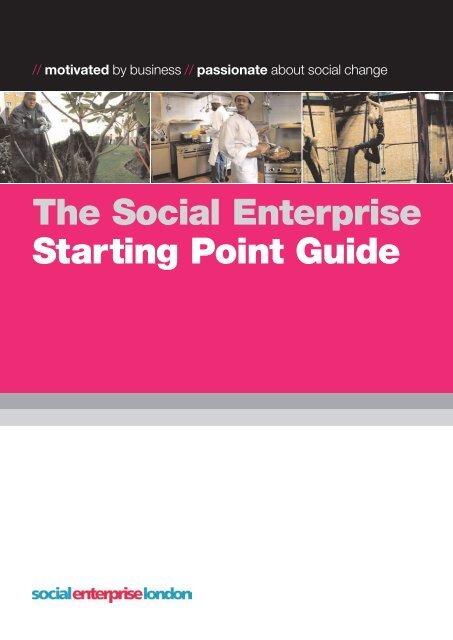 The Social Enterprise Starting Point Guide