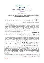 USUL AL IMAN 7 - Chân Lý Islam