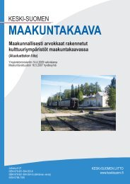 MAAKUNTAKAAVA - Keski-Suomen liitto