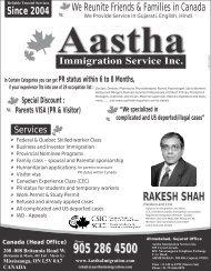 RAKESH SHAH RAKESH SHAH - Foodpages Canada