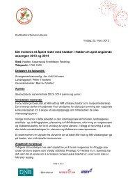 Beskrivelse av utfordringene 2013-2014 - Norges orienteringsforbund