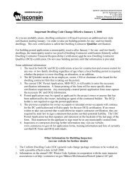 Important Dwelling Code Change Effective January 1, 2008 As you ...