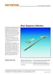 Door Sequence Selectors - Dictator