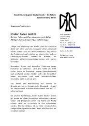 Presseinformation - Falken Berlin