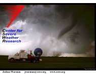 Center for Severe Weather Research - Congressional Hazards ...
