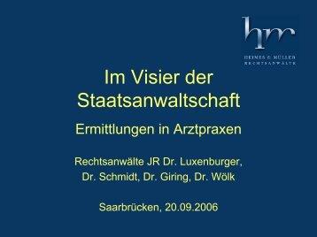 Präsentation unserer Veranstaltung am 20.09.2006 (98 KB)
