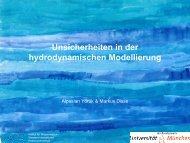 Vortrag M. Disse, A. Yörük - Hydrotec