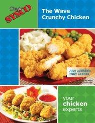 The Wave Crunchy Chicken - Sysco Canada