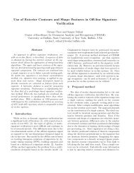 Use of Exterior Contours and Shape Features in Off ... - ResearchGate