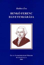 tanulmány és Benkő Ferenc peregrinációs albuma / Hubbes Éva