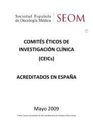 (CEICs) ACREDITADOS EN ESPAÑA Mayo 2009 - Sociedad ...