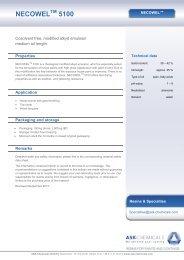 NECOWEL 5100 - ASK Chemicals