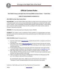 2013 YouTube Video Official Contest Rules.pdf - Texas Municipal ...